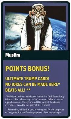 Funny World Religion Top Trumps Cards Muslim Islam