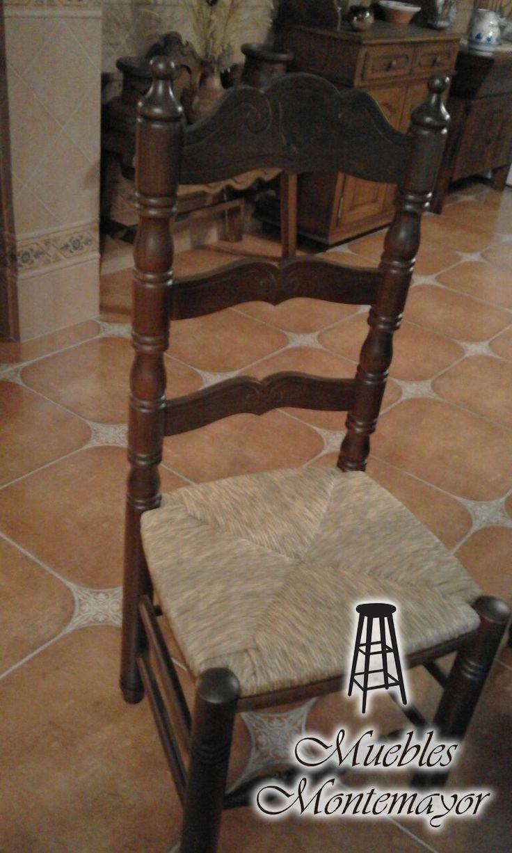 Sillas vintage el rinc 243 n di ree - Silla De Madera Estilo Rustico Hogar Decoraci N Muebles