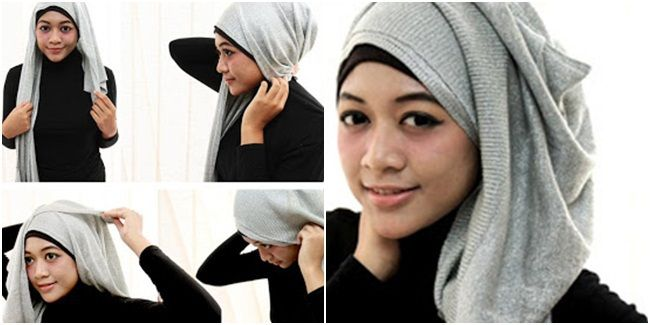 Trik Hijab : Cantik Dengan Hijab Kantong