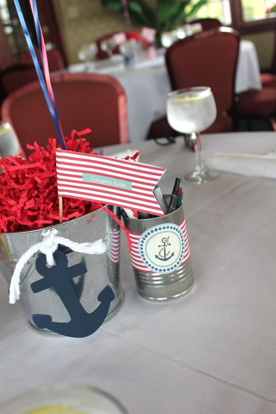 Nautical Baby Shower! Paper Ribbon from PaperJacks on etsy!: