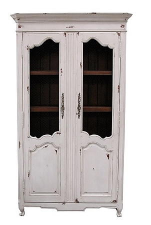 French Armoire with Wood Doors: Painted Furniture, Style Furniture, 51 French, Beautiful French, French Armoires, Wire Doors, Wood Doors, French Style