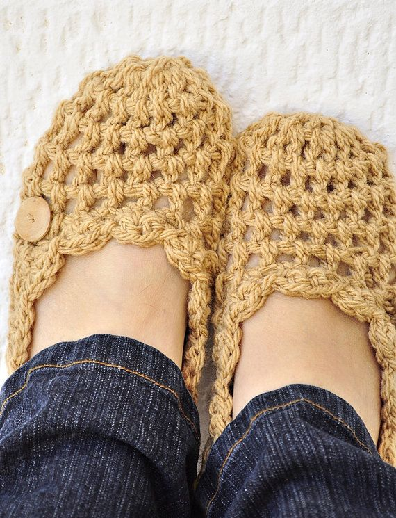 New slipper design by Isabelle Knits