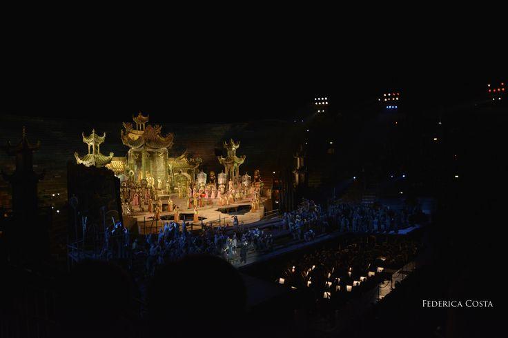 Some kind of Magic.. #ArenadiVerona #Turandot