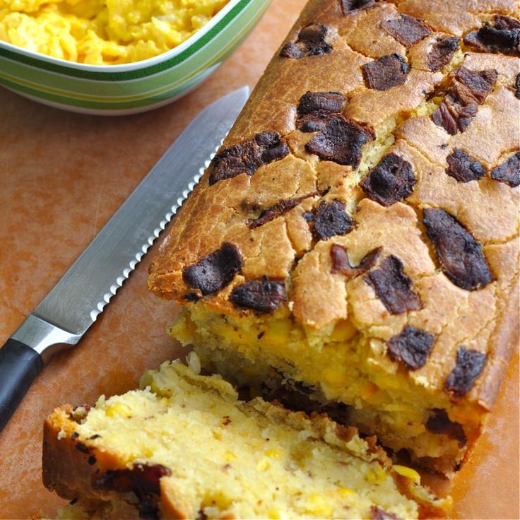 Bacon Cornbread | Recipes - Bread | Pinterest