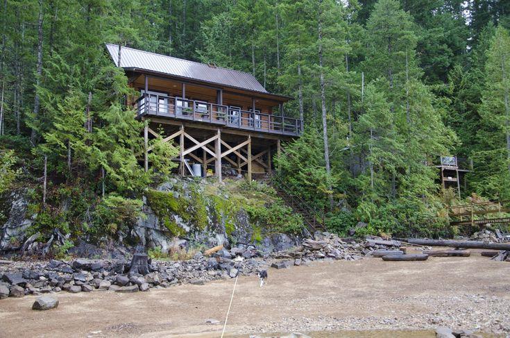 "Lazy S Lodge, on Powell Lake, British Columbia.  Look for blogspot.ca, ""Powell Lake, British Columbia - A photo Essay"" by Eric Stenberg"