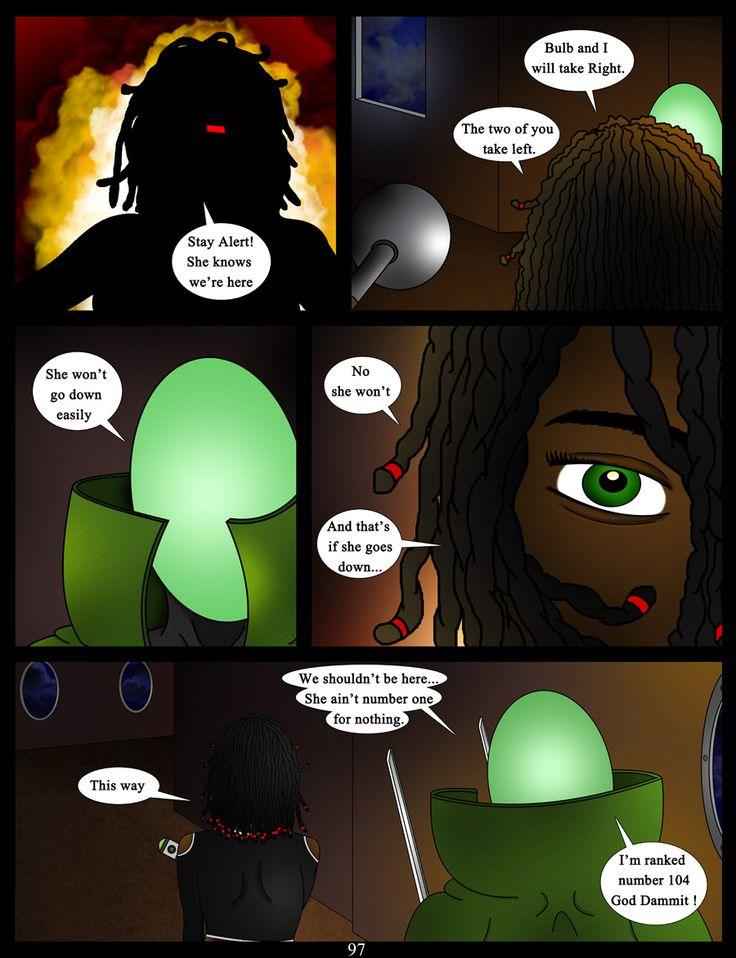 page 97 #comic #webcomic #akacya #scifi #actioncomic #comics #bd #sequientialart #bountyhunter