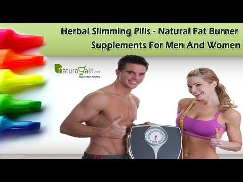 Herbal Slimming Pills - Natural Fat Burner Supplements for Men and Women