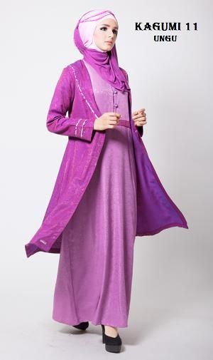 Baju Dress Pesta Ethica Kagumi 11 Ungu