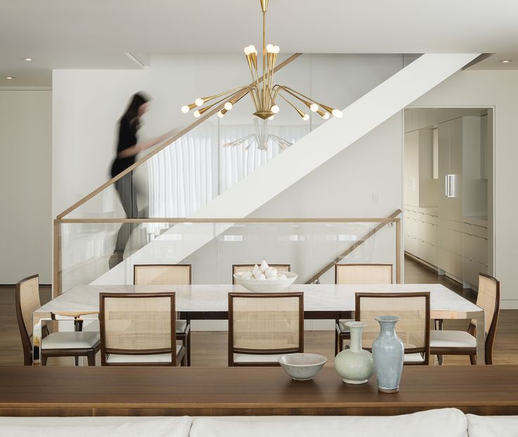 Glass Staircase - Sutro Architects