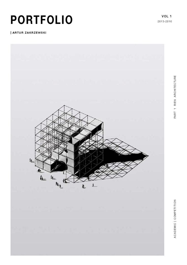 Artur Zakrzewski | Architecture Portfolio 2016                                                                                                                                                                                 More