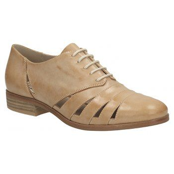 Womens Casual Shoes - Hotel Image in Light Tan Leather from Clarks shoes