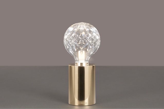Lee Broom's newly launched table lamp that harks back to the 1930s.