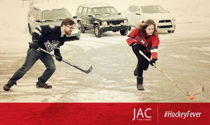 #HockeyFever #MenvsWomen #JAC