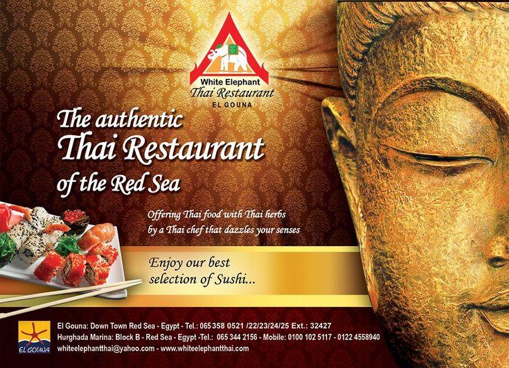 White Elephant Thai Restaurant El Gouna: Thai Chef - Fantastic dishes! The best of Asian