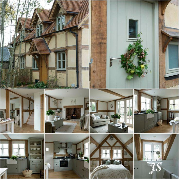 A Border Oak Cottage by Joanne Sandford - Images by Border Oak