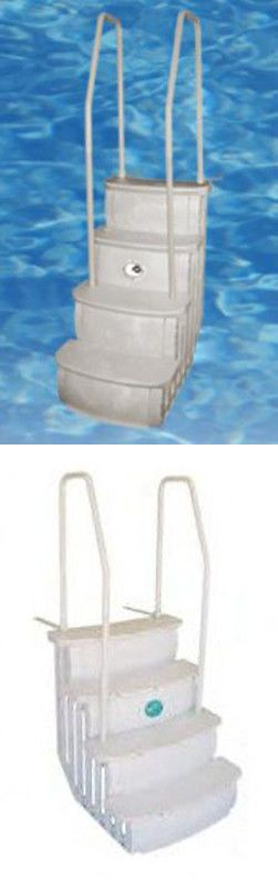 Other Pool Equipment and Parts 181071: Main Access Istep Above Ground Swimming Pool Deck Entry Steps Ladder Ladders -> BUY IT NOW ONLY: $184.99 on eBay!