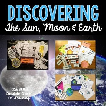The Sun, Moon and Earth BUNDLE with PowerPoint.Get your students engaged with informational text by teaching 3 units on the Sun, Moon and the Earth! The materials in this unit are interactive and utilize multimodal strategies to increase student engagement and outcomes.