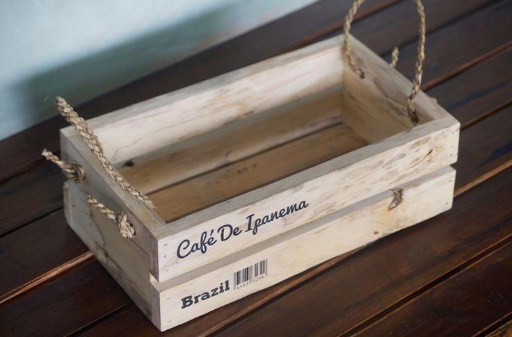 Jual Crate / Keranjang kayu unik natural - Decoria Jogja | Tokopedia
