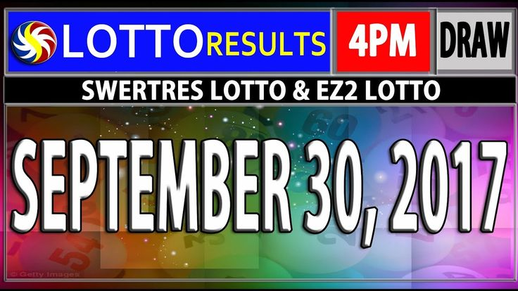 PCSO 4PM LOTTO RESULTS TODAY
