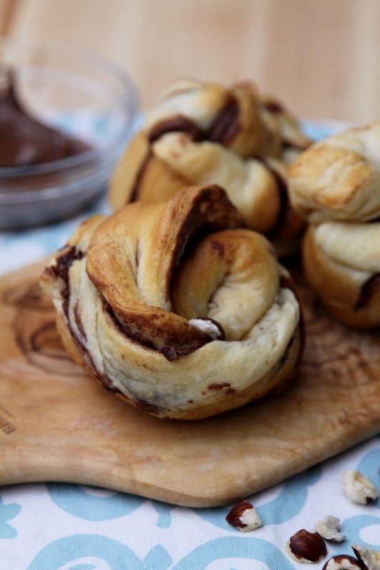 Nutty Nutella Rolls