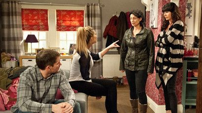 In Emmerdale tonight (Tuesday July 1), the Bartons and Dingles are in crisis, Jai makes a shock move in terms of his business,  Priya pushes Rishi to find her a husband, and Diane is shocked to learn who Bernice's boyfriend is.