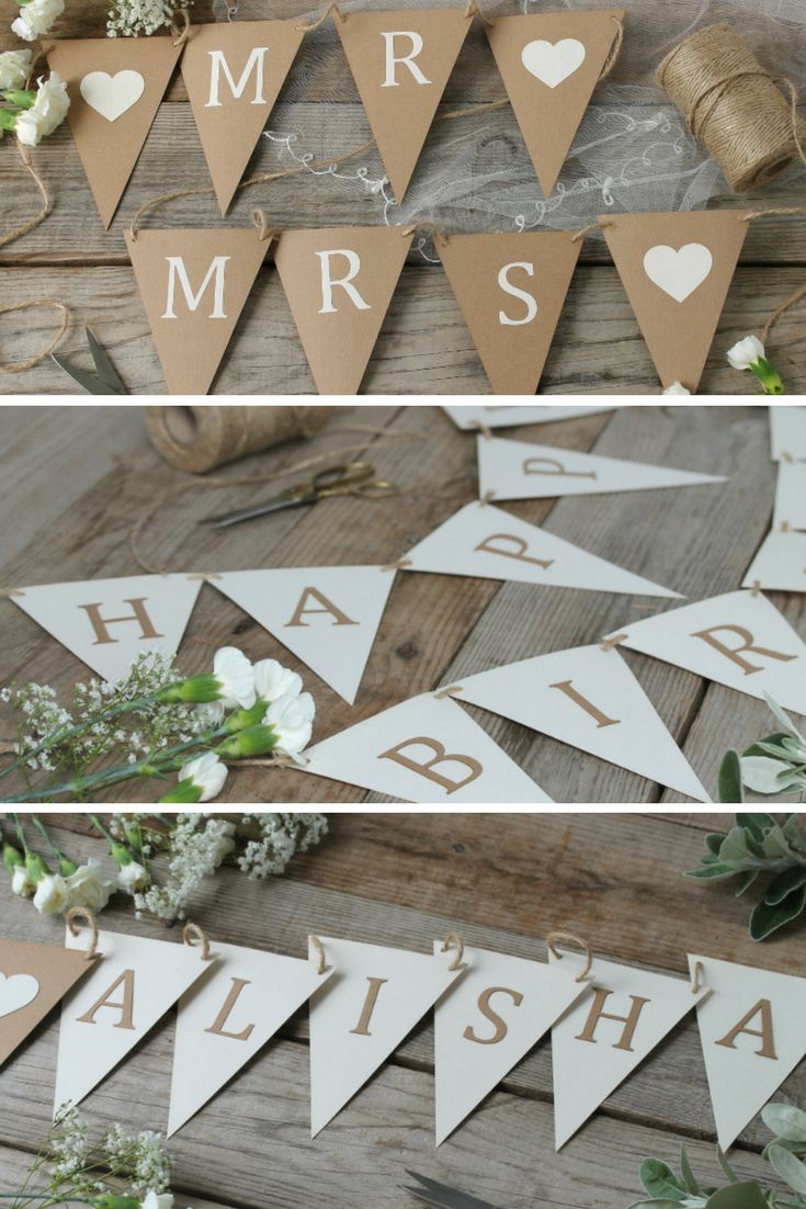 DIY Bunting kits for all celebrations, only £7.99