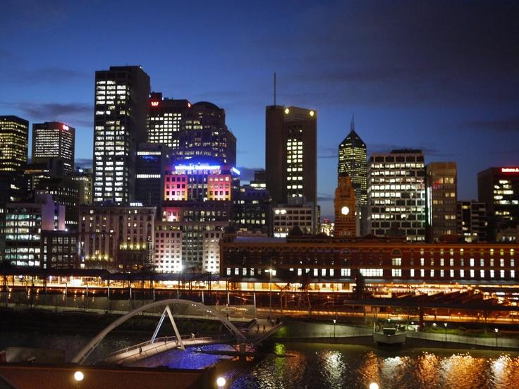 A fine night in Melbourne
