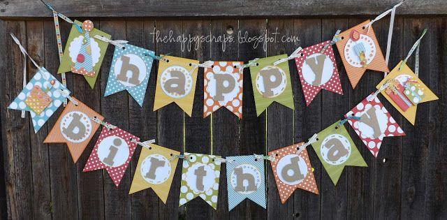 The Happy Scraps: Happy Birthday {Banner}