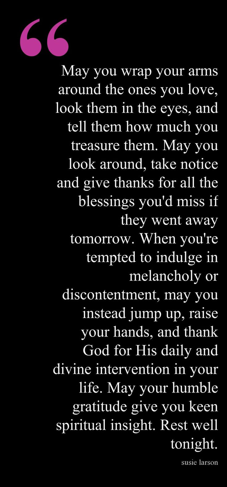 End of Day Blessing