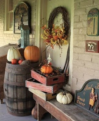 Do it Yourself Girl! Meg-Made Creations: 30 Fall Outdoor Decor ...