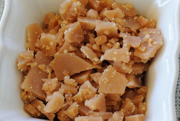 """Homemade Toffee Bits - """"Toffee bits are so easy to make from scratch, and they taste so much better than the store bought bag 'o bits. Use them in cookies, in muffins or on ice cream."""""""