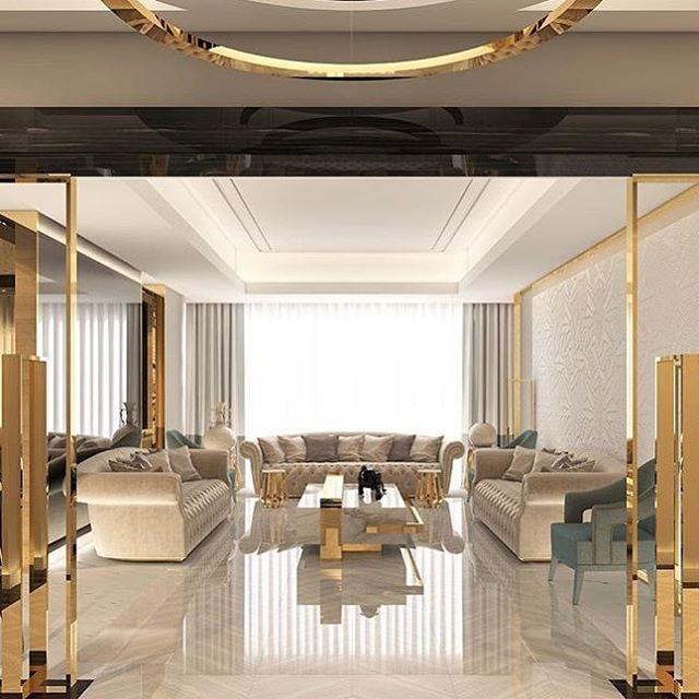 صميم داخلي ديكور ديكورات صالة معيشة صالات مودرن فيلا ديكور داخلي ألوان تفاصيل سعوديه إمارات دبي Home Room Design Luxury Living Room Luxury Living
