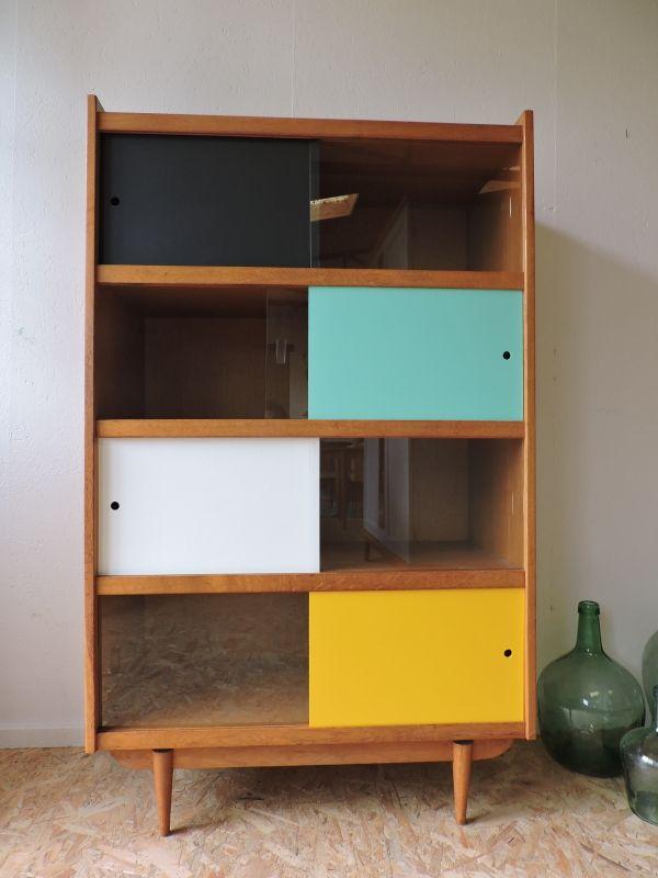 biblioth que vintage c te et vintage pinterest vintage. Black Bedroom Furniture Sets. Home Design Ideas