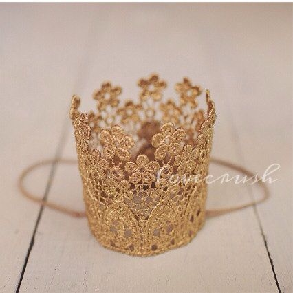 Gold Florabella Crown - Talk of the Party