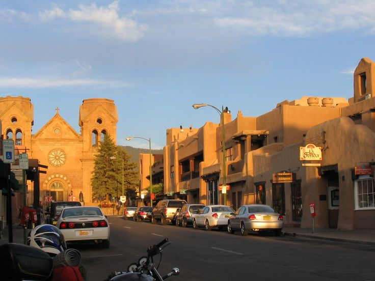 Favorite street in Santa Fe, NM includes La Fonda restaurant, The French Bakery, and The Chapel!!!!! www.experiencemorelife.com