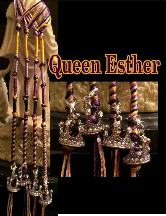Hadassah Queen Esther Tzitzits by AriellaHannah on Etsy