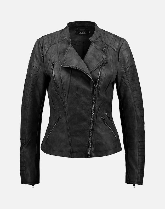 76019177a47f7d ONLY Bikerjacke  Ava  in schwarz bei ABOUT YOU bestellen.  ✓Versandkostenfrei ✓Zahlung