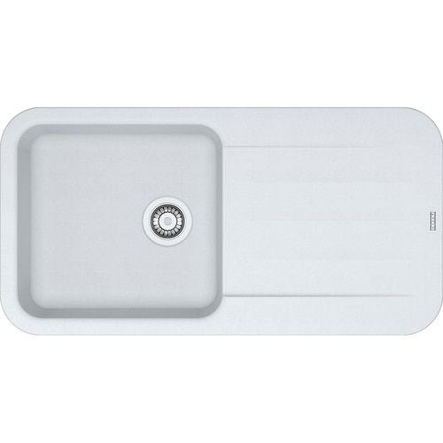 Franke Pebel Pbg611 97 Fragranite Polar White Kitchen Sink Sink White Kitchen Sink Franke Sink