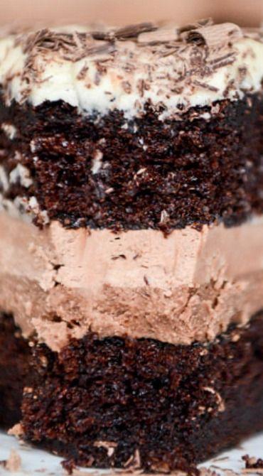 Vanilla Bean Chocolate Cake