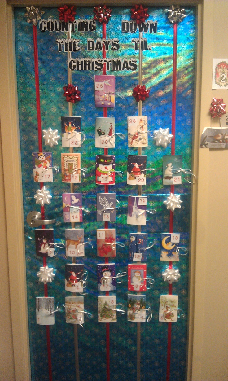 17 best images about door decorating on pinterest back for Advent decoration ideas