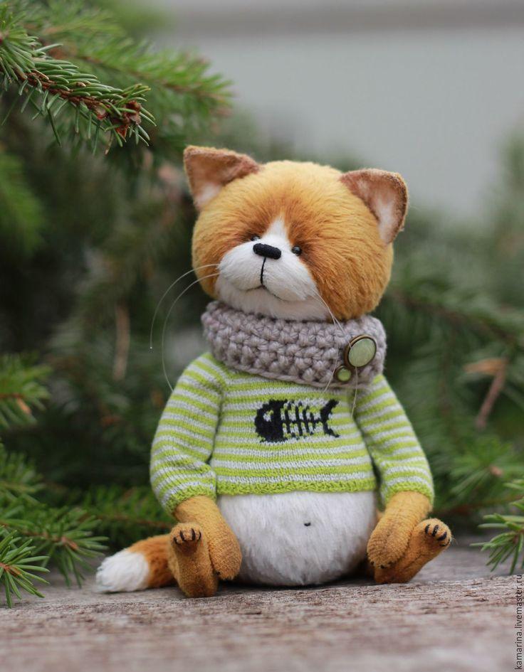 Купить Рыжик:) - рыжий, кот, котик, кот тедди, котик тедди, тедди кот