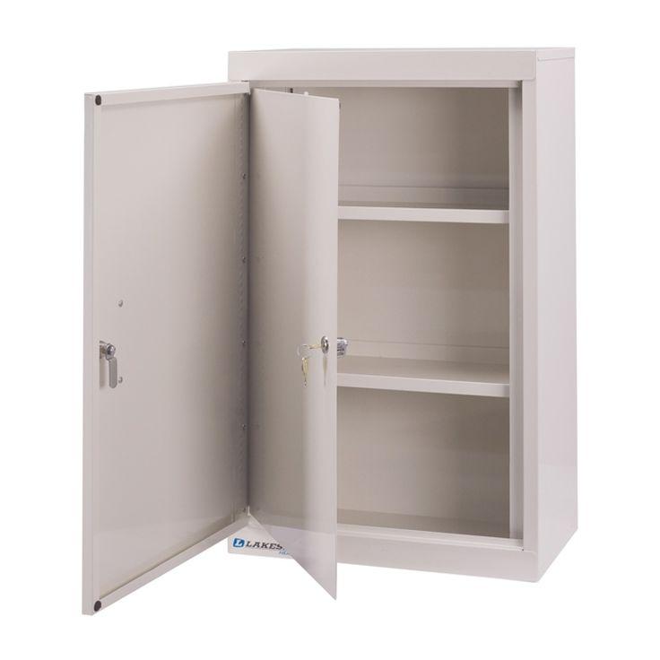 Double Door Double Lock Narcotic Cabinet