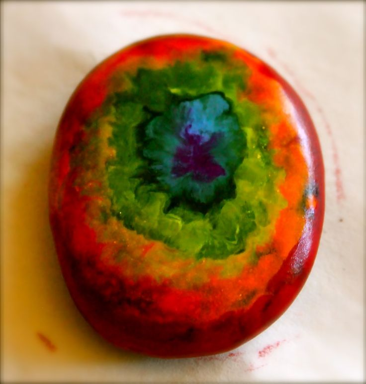 wax rocks ~ heat rocks (river stones) in the oven or out in the sun, use crayons to draw on the rock and watch what happens.
