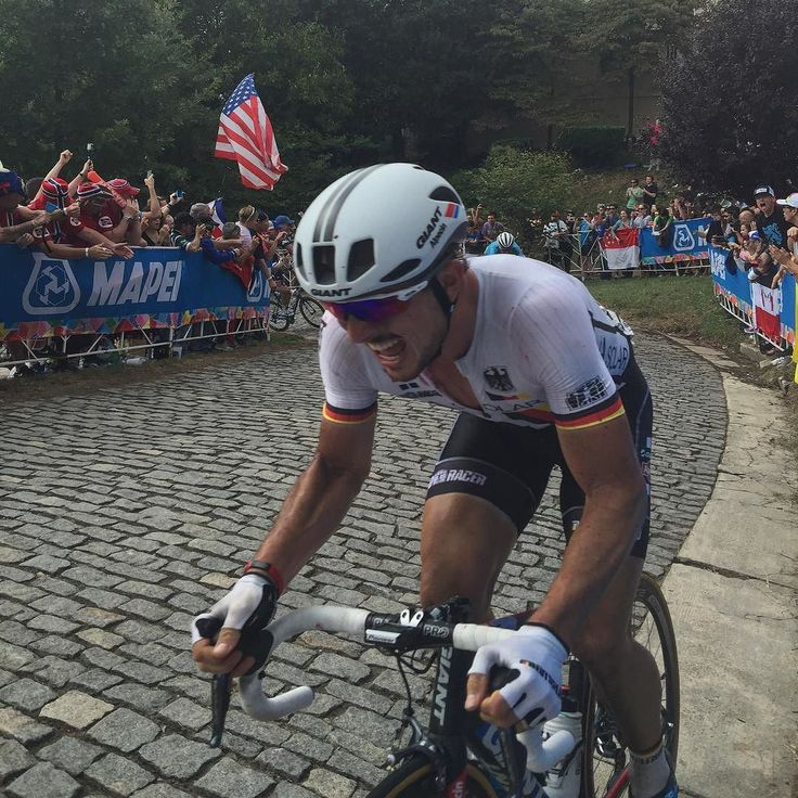 John Degenkolb The last lap on Libby Hill.Richmond 2015