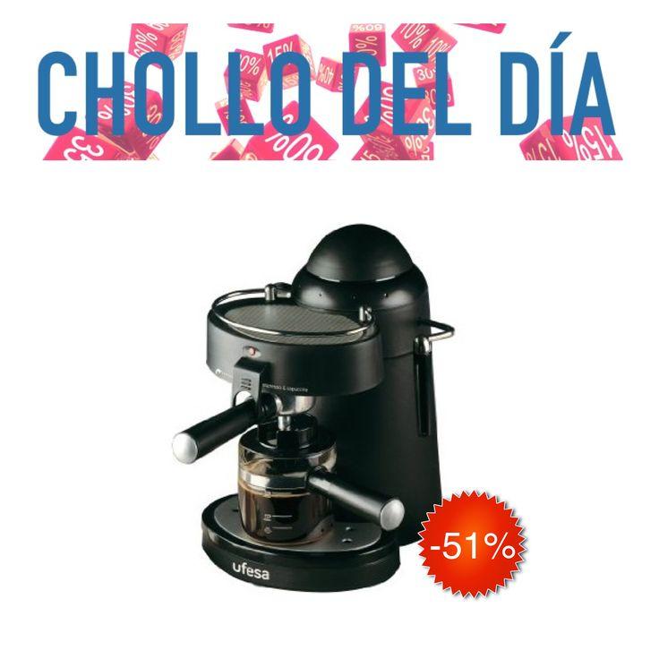 Empieza los días con energía con este #Chollodeldia | #Cafetera Ufesa CE7115 al >51%< dto.