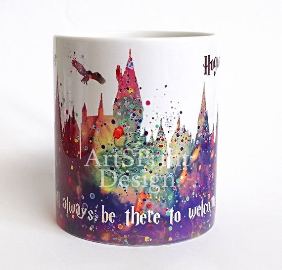 Le château de Poudlard Harry Potter 3 tasse Harry par ArtsPrint