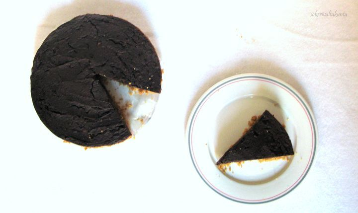 Suklaanmakuinen kurpitsakakku