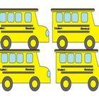 These cute bus tags are great to create for students to utilize the first week of school. Fill out the students name on the bus tag and on the Dism...