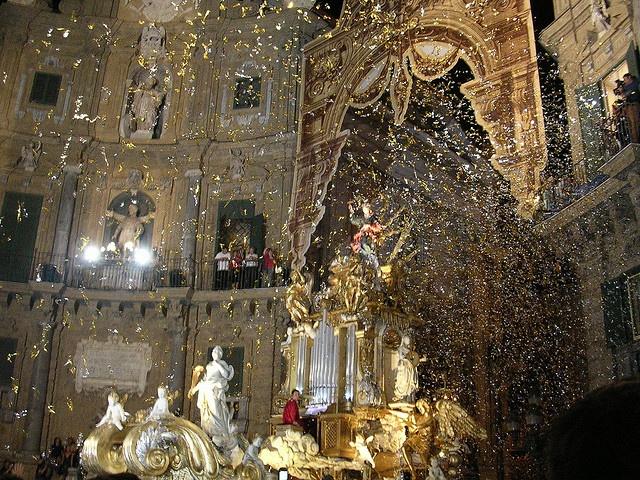 381° Festino di Santa Rosalia, Palermo, il carro della Santuzza by accettiamodidiventarecavalli, via Flickr