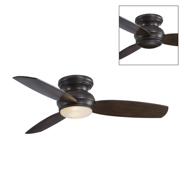 Traditional Concept Flush Ceiling Fan   Lighting Universe